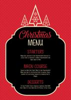 Conception du menu de Noël