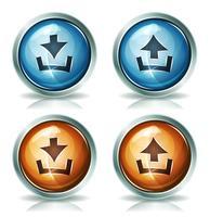 Télécharger et télécharger des icônes Web vecteur