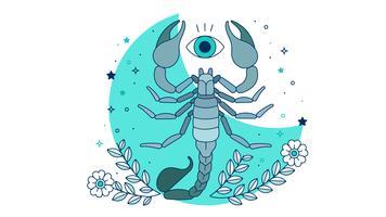 Vecteur scorpion