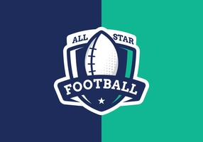 Logo All Star Football
