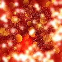 Fond de Noël de bokeh et étoiles