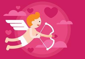 Illustration vectorielle de Cupidon