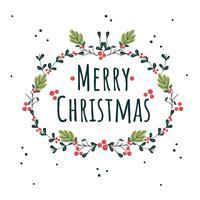 Joyeux Noël fond vecteur