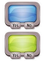 Boîte de réponses pour le jeu d'interface utilisateur