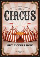 Affiche Vintage Western Circus