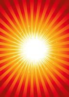 Résumé fond flashy starburst
