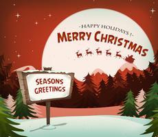 Joyeux Noël vacances fond