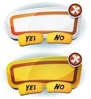 Panneau de signalisation routière pour le jeu de l'interface utilisateur