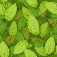 Fond de feuilles de printemps vert sans soudure vecteur