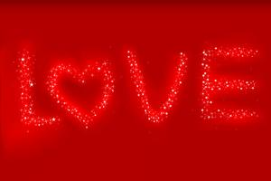 Amour vecteur