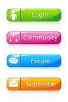 Ensemble d'icône Web