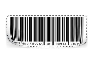 code à barre vecteur