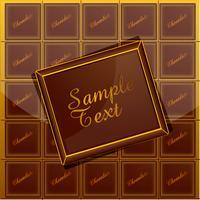 Fond de chocolat vecteur