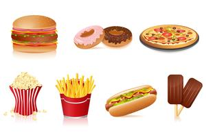 Fast food vecteur