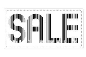 Vente de codes à barres