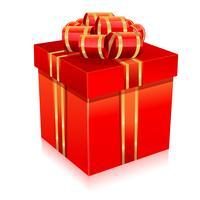 Boite cadeau vecteur