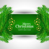 Fond de célébration joyeux Noël décoratif