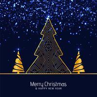 Abstrait joyeux Noël paillettes