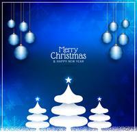 Abstrait joyeux Noël voeux fond