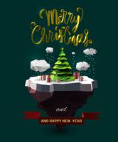 Conception d'arbres de Noël
