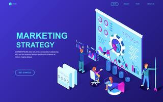 Bannière Web Stratégie marketing