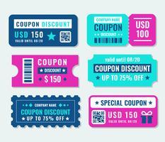 Vecteur de modèle de réduction de coupon