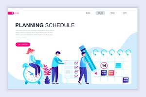 Planification de la bannière Web