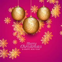 Abstrait beau fond de célébration joyeux Noël vecteur