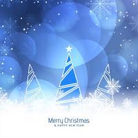 Abstrait joyeux Noël beau fond