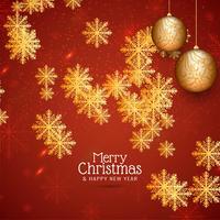 Abstrait joyeux Noël festival voeux vecteur