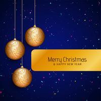 Résumé élégant fond joyeux Noël vecteur