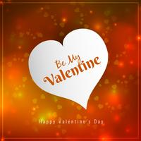 Abstrait joyeux Saint Valentin vecteur