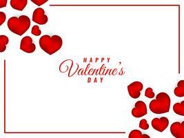Résumé beau fond Saint Valentin vecteur