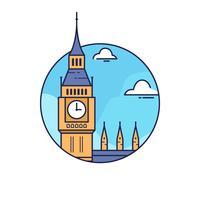 Big Ben London vecteur