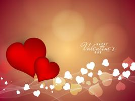 Abstrait Happy Valentine's Day beau fond