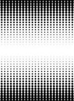 fond monochrome style pointillé vecteur