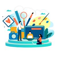 Studio de design, conception, dessin, photographie