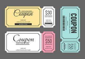 Modèle de coupon