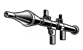 illustration vectorielle de lance-grenades vecteur