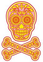 crâne de sucre mexicain