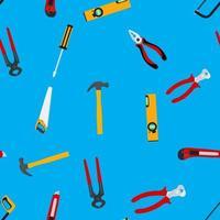 outils de réparation de fond sans couture. illustration vectorielle vecteur