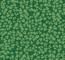 motif floral sans couture. feuilles de fond. s'épanouir dans la texture du jardin avec des feuilles de persil vecteur