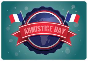 Insignes du Jour de l'Armistice vecteur