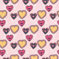 Modèle vecteur romantique valentine