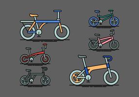 Vélo vecteur