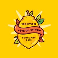 France citron festival vecteur