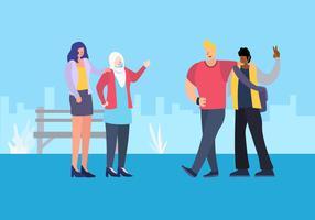 Communauté multiculturelle pour adolescents
