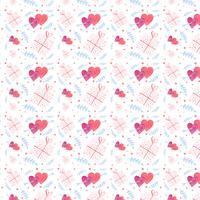 Modèle de Valentine mignon