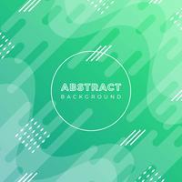 Fond plat abstrait vectoriel vert moderne