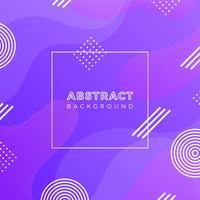 Fond plat abstrait vector